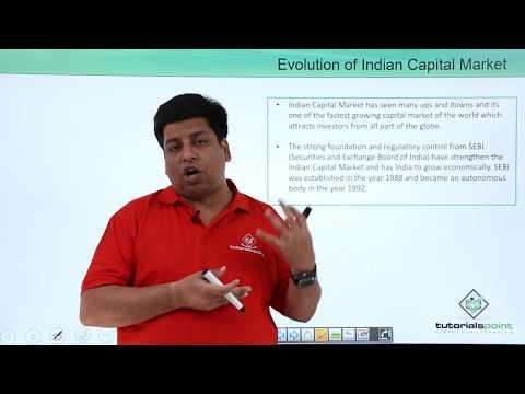 Evolution of Indian Capital Market