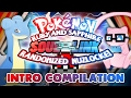 Pokemon Ruby & Sapphire Soul Link Intro Compilation!