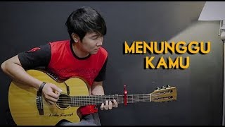 Download Video (Anji) Menunggu Kamu - Nathan Fingerstyle | Guitar Cover | NFSVLOG MP3 3GP MP4
