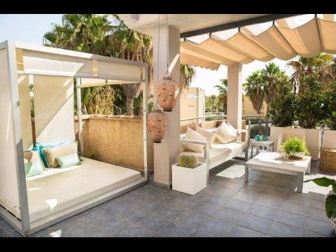 Fabuloso Atico En Venta En Denia Playa Con Chillout Piscina - Jardines-chill-out