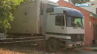 Из Керчи на Донбасс отправили фуру с гуманитарной помощью