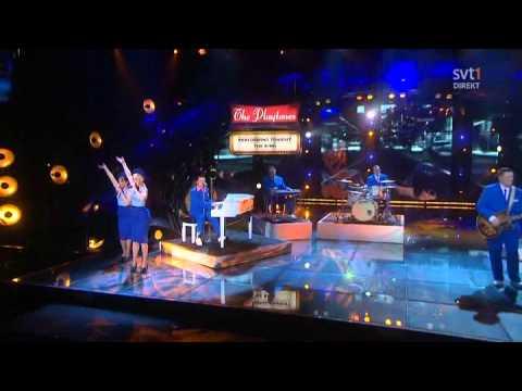 The Playtones - The King (Live Melodifestivalen Semi 2011 - reprise)