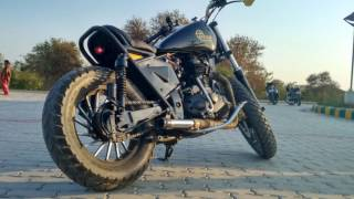 royal enfield bullet customized by voyage custom cycles