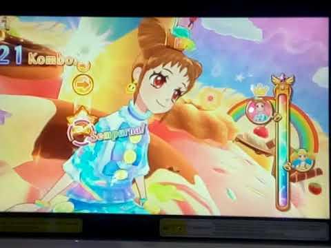 Aikatsu! Indonesia card game | seri 4 season 2 | chu chu rainbow melawan kii | Laura Blue #18