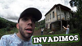 INVADIMOS A CASA MAL-ASSOMBRADA!!