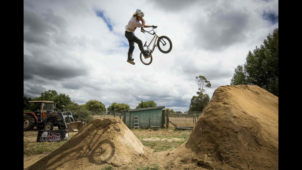 backyard bmx session with paul langland youtube