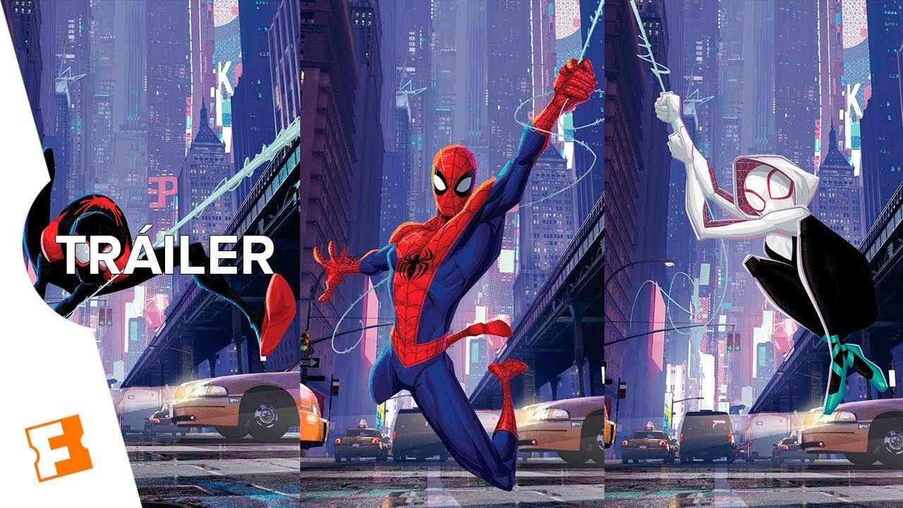 Spiderman Un Nuevo Universo Tráiler 3 Español Latino Youtube