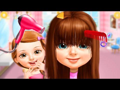 Игра-мультик: делаем прически и маникюр/Лето маленькой девочки/Зырики ТВ