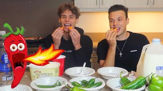 HOT PEPPERS CHALLENGE!!