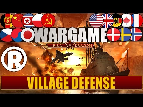 Wargame: Red Dragon - Gameplay - Village Defense