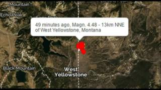 heads up yellowstone super volcano hit with 4 5m earthquake