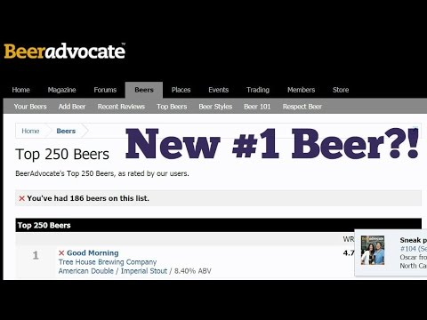 Beer Talk: New #1 Beer! BeerAdvocate Rating Changes Again! - Ep. #527