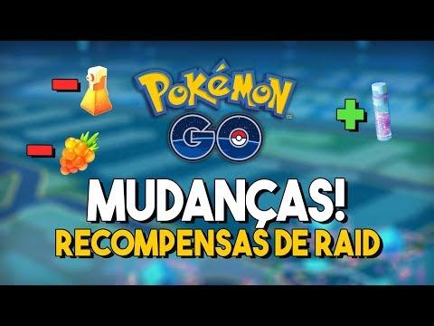 ALTERAÇÕES NAS RECOMPENSAS DAS RAIDS: VEJA O QUE MUDOU! | Pokémon GO