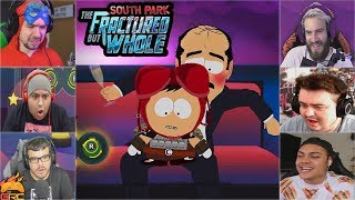Gamers Reactions to the Lap Dance Mini Game (Part 1) | South Park™: The Fractured But Whole