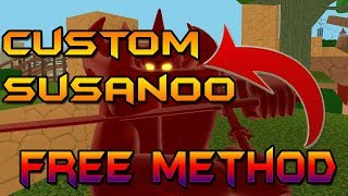 [50 SPIN CODE + BETA] HOW TO GET FREE CUSTOM SUSANOO!!! | NRPG BEYOND BETA | Roblox