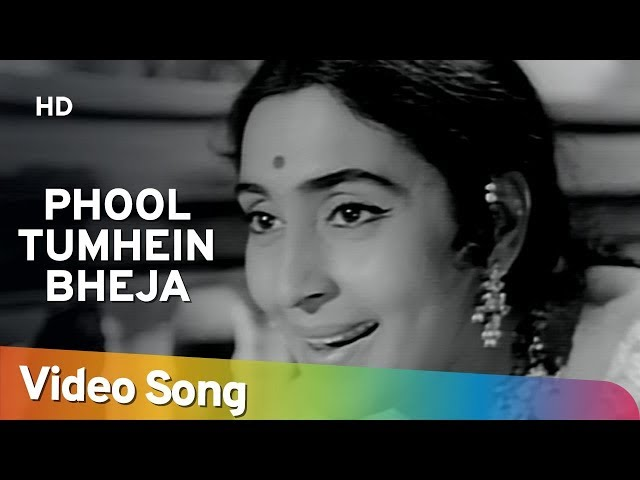 Phool Tumhen Bheja Hai Khat Mein (HD) | Saraswatichandra | Nutan | Manish  | Evergreen Old Songs