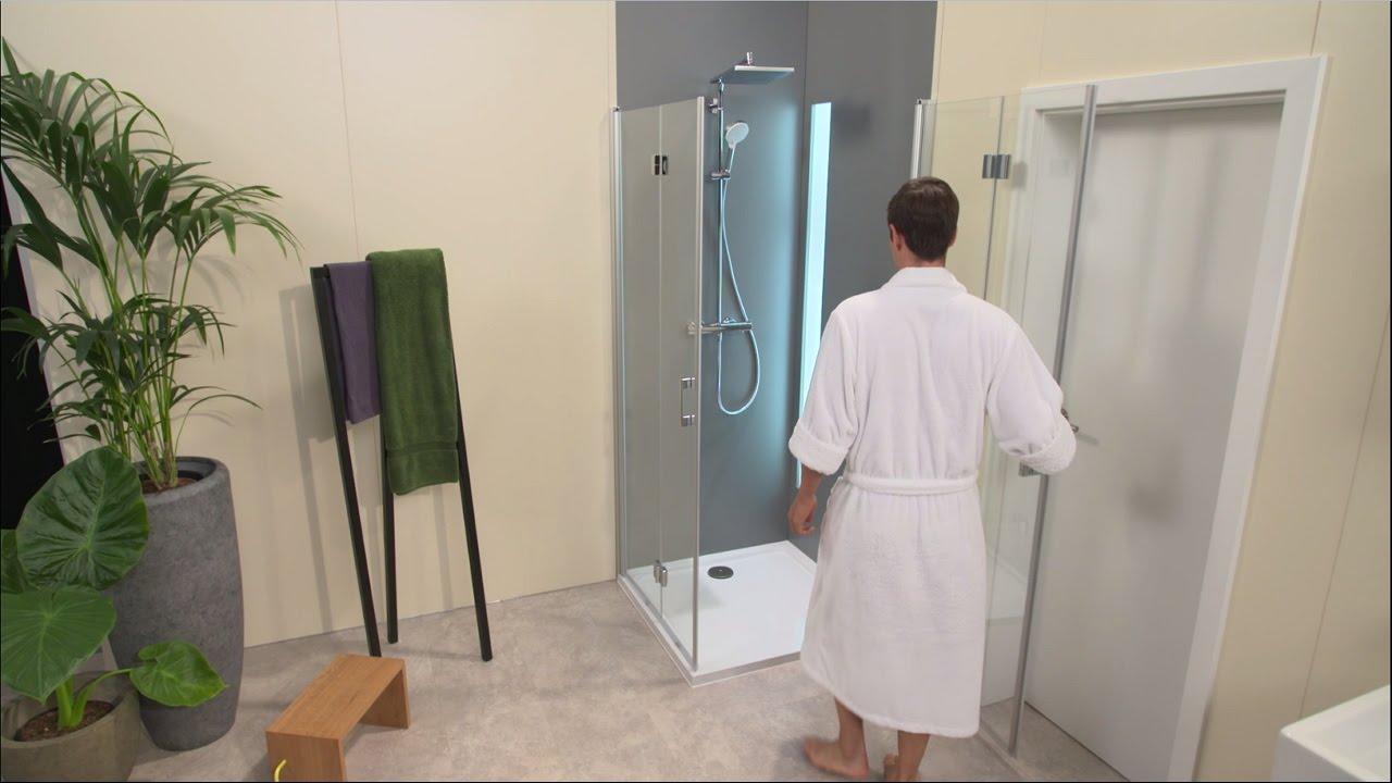 hansgrohe crometta e 240 1jet showerpipe youtube. Black Bedroom Furniture Sets. Home Design Ideas