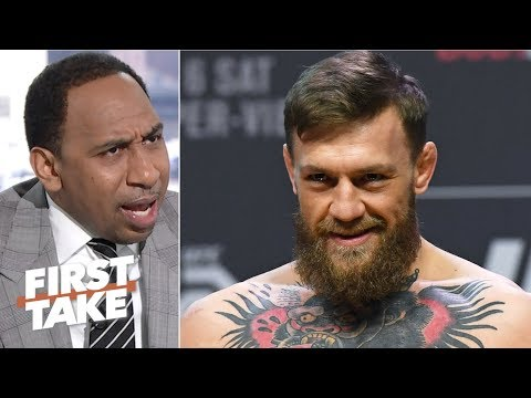 'Conor McGregor is really getting on my damn nerves' – Stephen A. | First Take