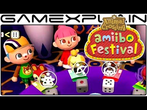 Animal Crossing: amiibo Festival - 8 Minigames Gameplay - Full download