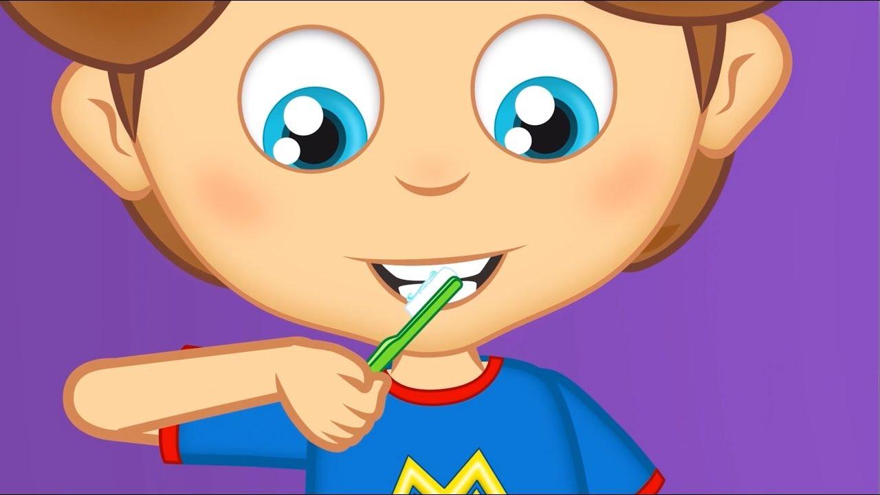 Escovar Os Dentes Musica Infantil Educativa Com Os Amiguinhos Youtube