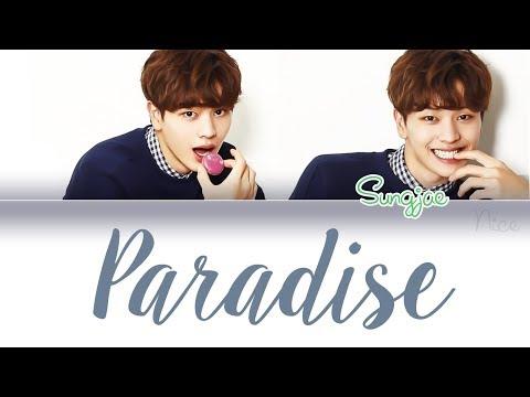 YOOK SUNGJAE (육성재) (BTOB) - PARADISE Lyrics (ENG/ROM/HAN)