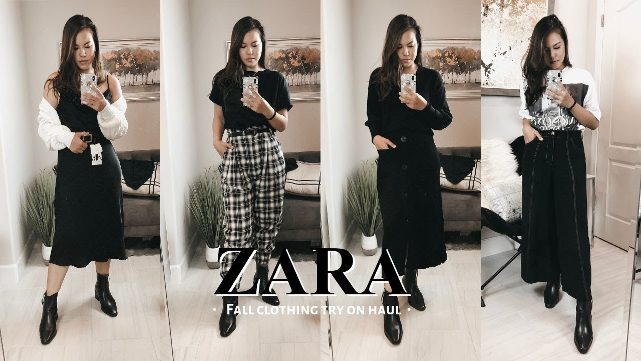 [VIDEO] - NEW In Zara | Fall/Winter Clothing Haul 2019 |AlisonHa 8
