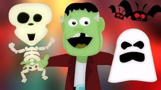 Olá É Dia das Bruxas | berçário Rimas | crianças canção coleção | Hello It's Halloween | Kids Song thumbnail