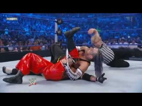 Jeff Hardy vs Rey Mysterio vs Chris...