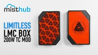 Limitless LMC 200W TC Box Mod Video
