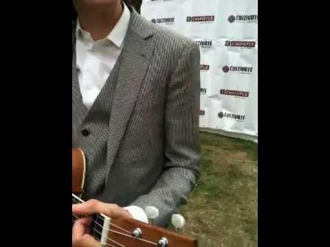 LP at Chipotle festival 2013