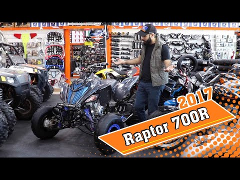2017 رابتر سبيشل إديشن  | Raptor 700R 2017 | Al Khubaizi Mot