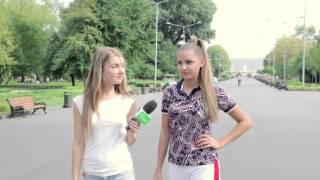 Каролина Севастьянова провела утреннюю зарядку в парке им. М. Горького