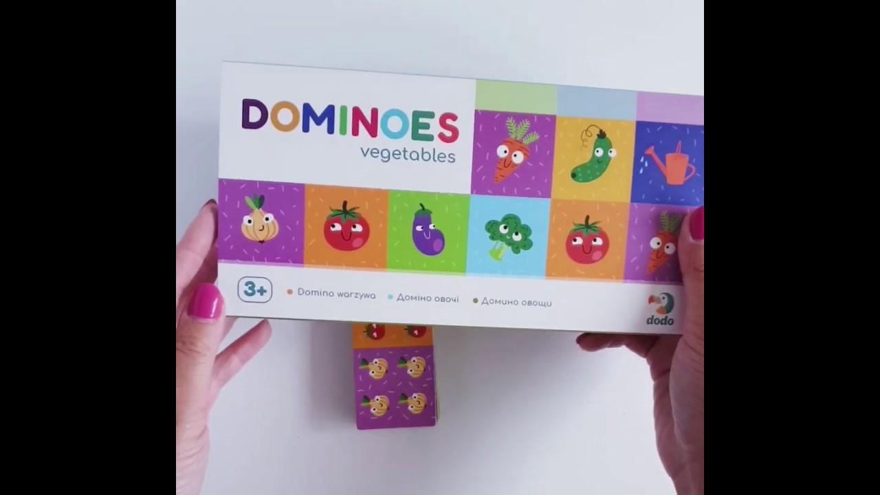 Dodo 300249 домино Овощи