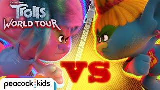 Branch is CAPTURED by K-Pop & Reggaeton Trolls | TROLLS WORLD TOUR