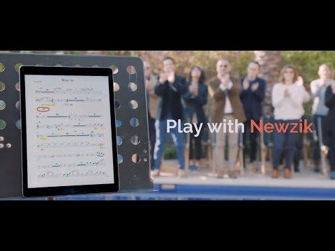 Newzik — Collaborative Music Reader on iPad and iPhone