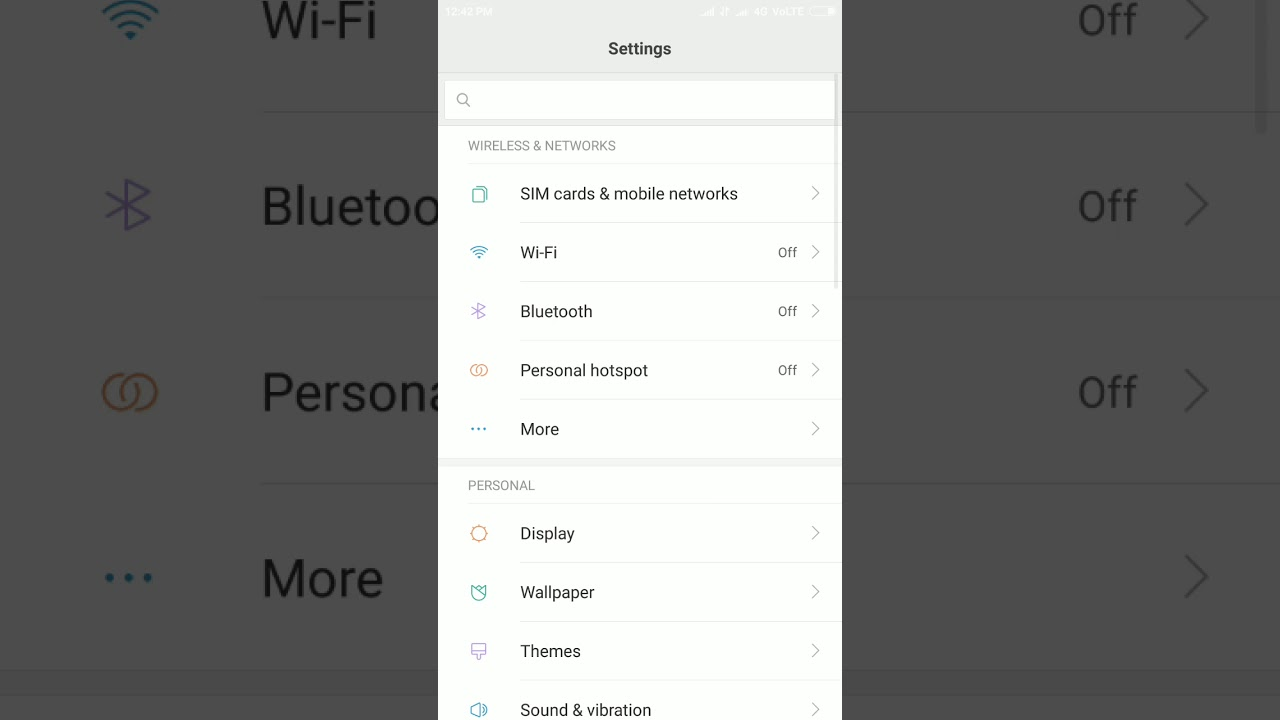 Redmi note 4 contacts import