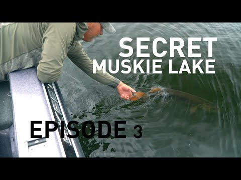 We Fished For MUSKIES On A Secret Wisconsin Lake (Episode 3)