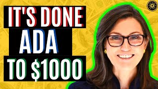 CARDANO ADA TO $1000! THIRD LARGEST CRYPTOCURRENCY NOW! CARDANO ADA NEWS TODAY