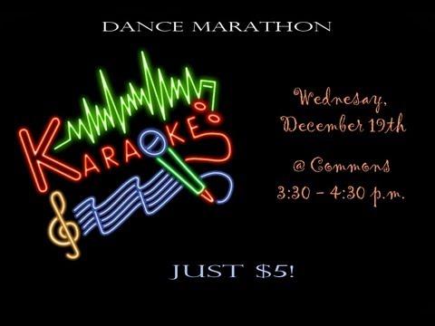 Niles North Dance Marathon Karaoke Night Commercial