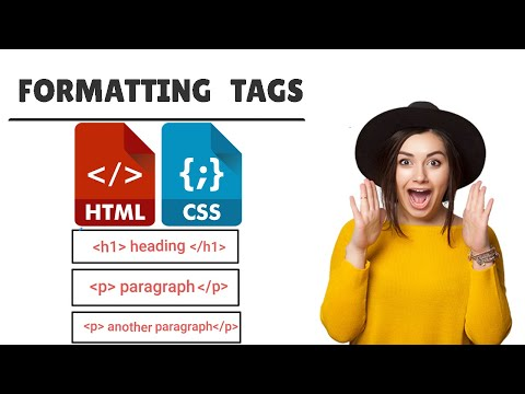 HTML Formatting Basic Tags (br Strong I Em Sub Sup Del Ins Mark Small ) #8
