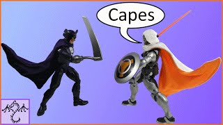 How to Make a Poseable Action Figure Cape (Marvel Legends Size)