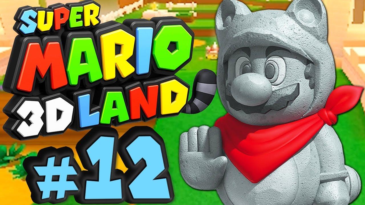 SUPER MARIO 3D LAND # 12 ★ Stein-Tanuki rettet Luigi! [HD60] Let\'s Play  Super Mario 3D Land