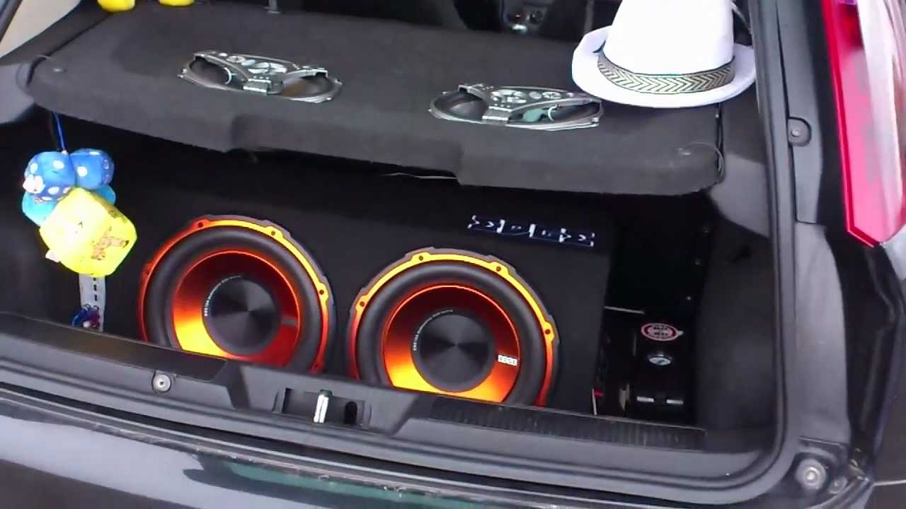 Impianto Audio Grande Punto Subwoofer Edge Casse Boschmann