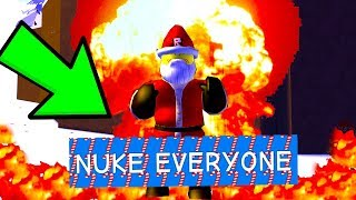 ROBLOX SANTA SIMULATOR *WE NUKED THE SERVER*