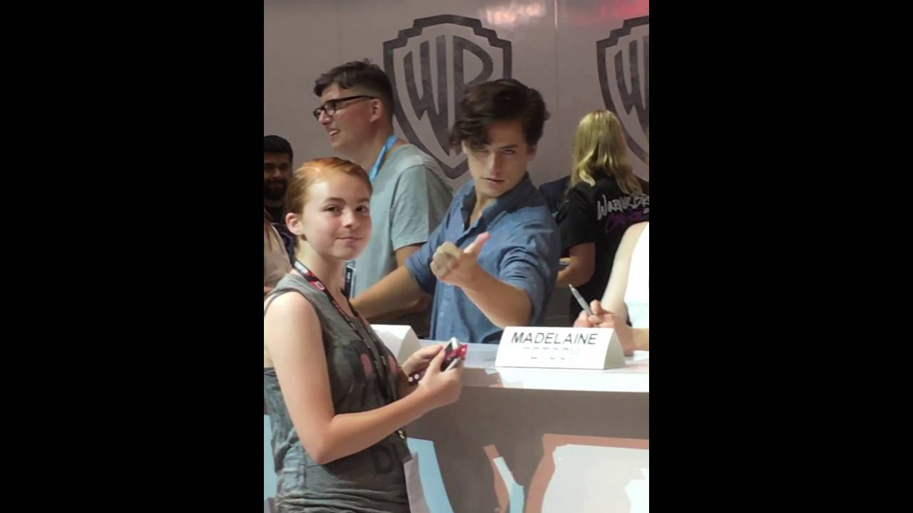 Cole Sprouse Meet And Greet At Sdcc 2016 Youtube