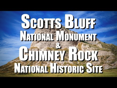 Scotts Bluff National Monument & Chimney Rock National Historic Site (Nebraska)