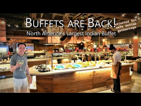 What Buffets Are Like Amid Covid @ North America's Largest Indian Buffet | Tandoori Flame