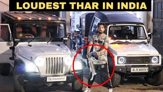 Installing INDIA's loudest Exhaust System On My Thar 🔥 - BIMBRA