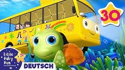 Die Räder des Busses | Kinderlieder | Little Baby Bum Deutsch | Cartoons für Kinder