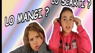 LO MANGI O LO SCARTI CHALLENGE! #1 by MARGHE GIULIA KAWAII  MAGIK